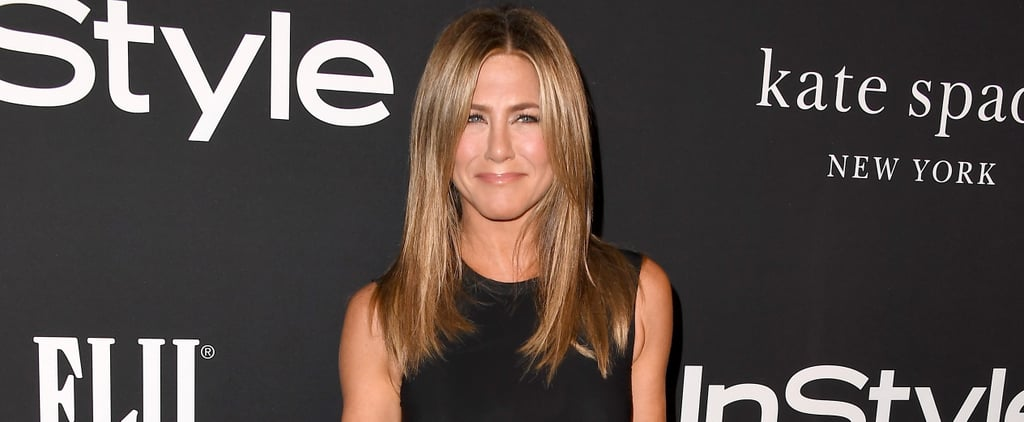 Jennifer Aniston at the 2018 InStyle Awards