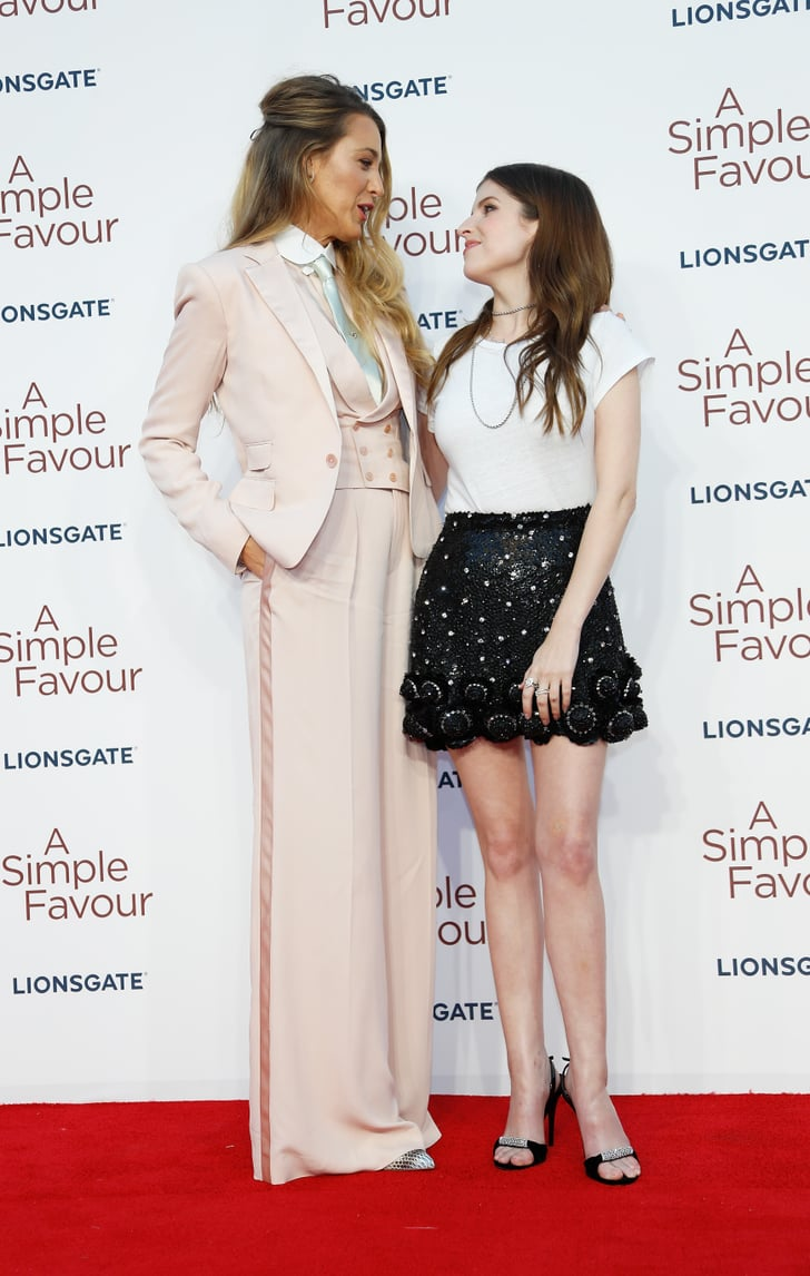 Blake Lively and Anna Kendrick Pictures POPSUGAR