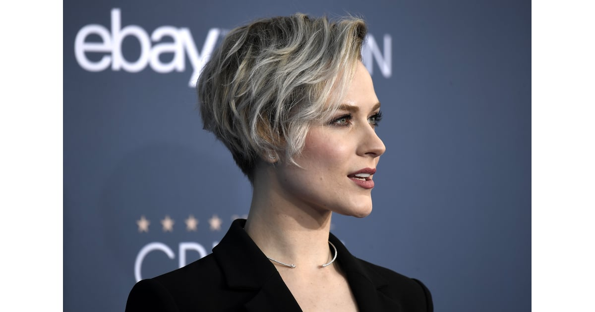 Evan Rachel Wood Hair at 2017 Critics' Choice Awards ...