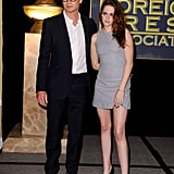Kristen Stewart and Simon Baker