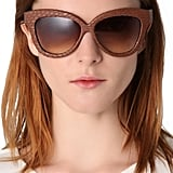 These Linda Farrow snakeskin sunglasses ($408, originally $583) are as luxurious as eyewear gets. You will definitely get tons of admiring stares in these.