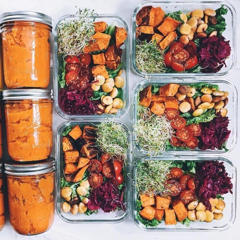 Super Vegan Meal-Prep Ideas | POPSUGAR Fitness FF-12