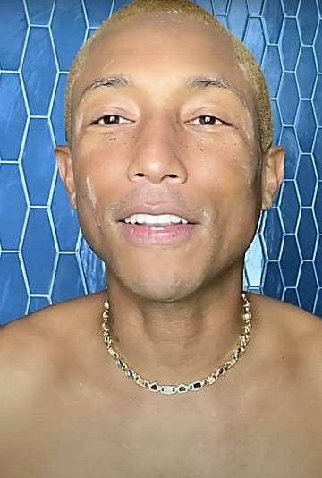 Pharrell Williams Shares His Skin-Care Routine