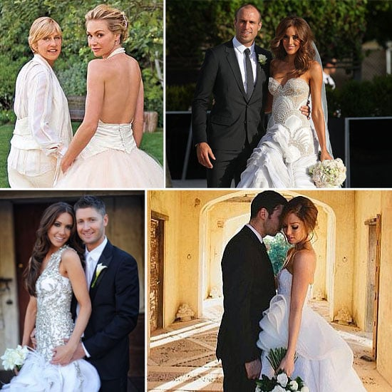 Celebrity Wedding Dresses and the Designers Who Created Them