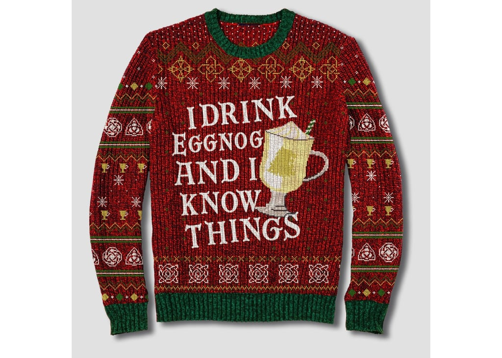"""Game of Thrones """"I Drink Eggnog and I Know Things"""" Sweater"""
