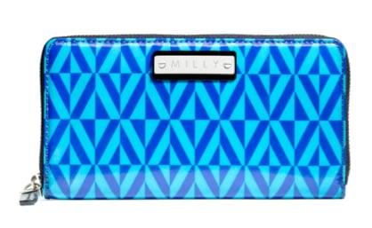 Imagine pulling this Milly geo-print wallet ($158) out every time you pay for things — it'll definitely light up the store and many eyes.