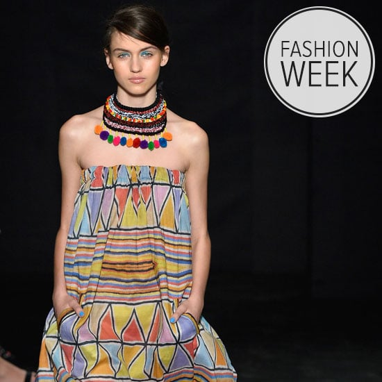 Runway Review Pictures of Roopa Pemmaraju SS 2014 MBFWA Show