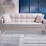 Ebern Designs Wooler Modern Fabric Tufted Sofa