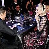 Lucy Boynton and Rami Malek at the SAG Awards