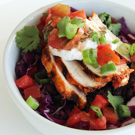 Healthy Mexican Recipe: Chicken Burrito Bowl
