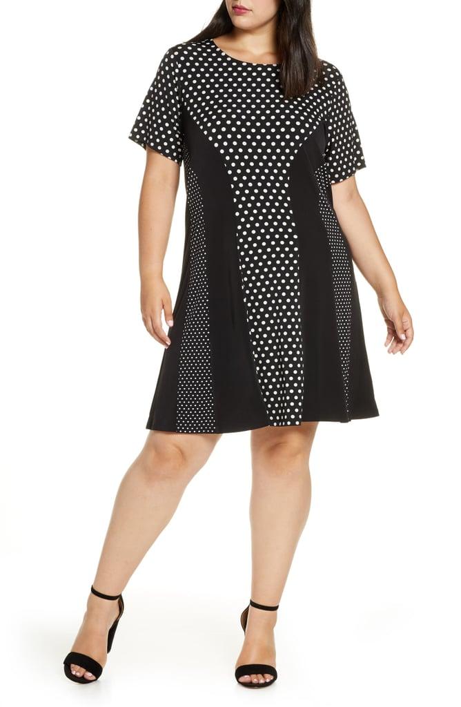 MICHAEL Michael Kors Mod Dot Combo Dress