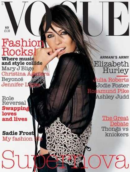 Elizabeth Hurley Vogue covers