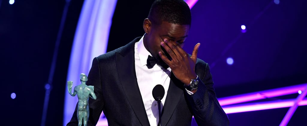 """Sterling K. Brown Thanks His This Is Us Cast For Being """"Nothing Like the Family in Get Out"""""""