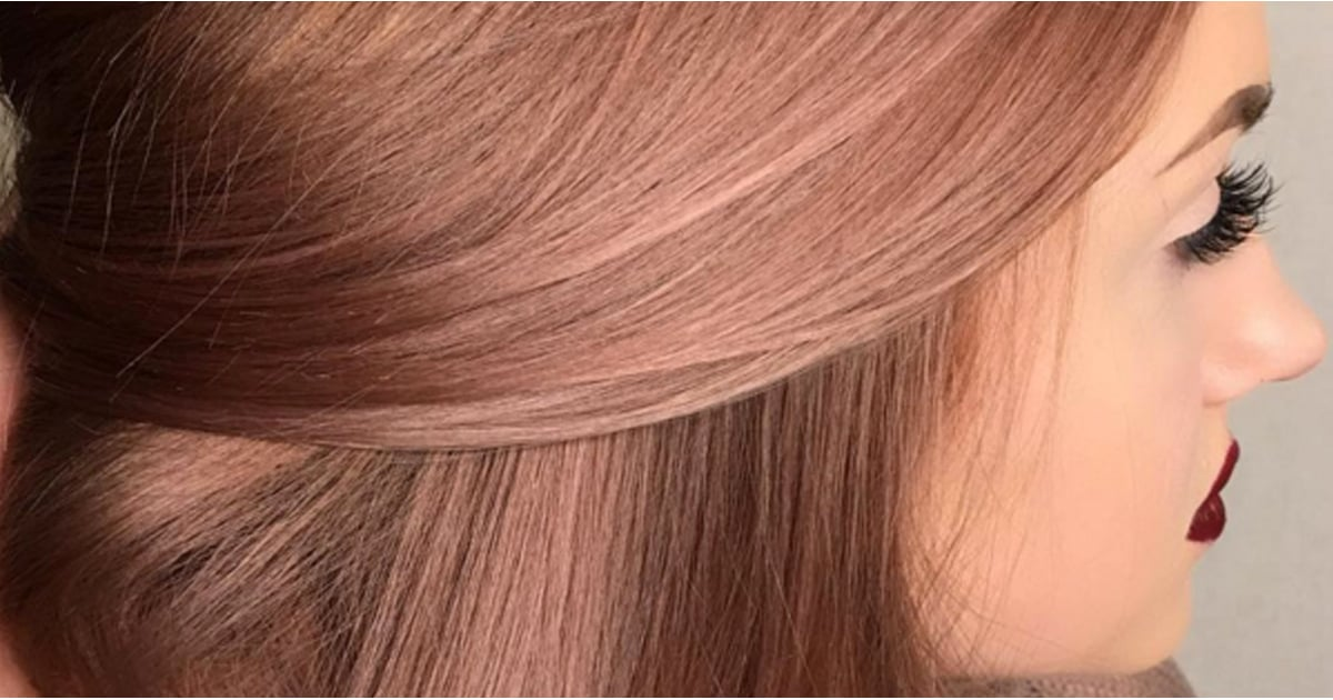 Rose Gold Hair Color Inspiration Popsugar Beauty