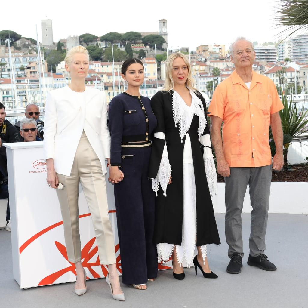Selena Gomez Chanel Suit Cannes 2019 Popsugar Fashion