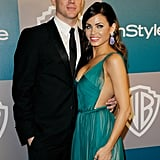 Channing Tatum and Jenna Dewan were out for InStyle's Golden Globes afterparty.