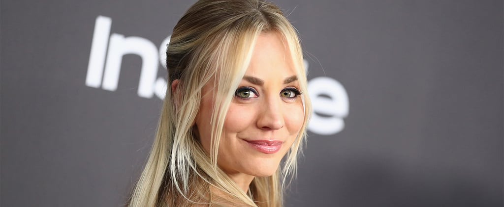 Kaley Cuoco's Reaction to First Golden Globes Nomination