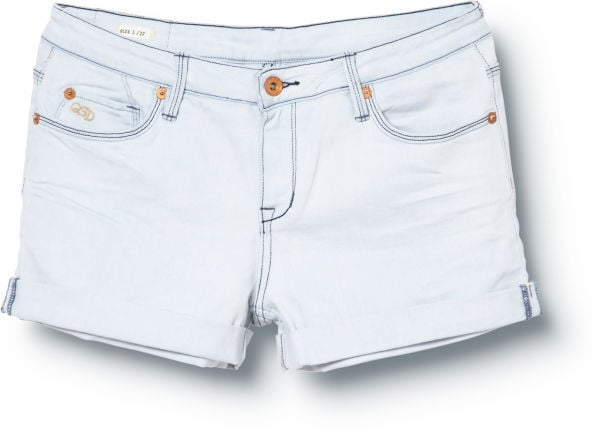 These Quiksilver denim shorts ($40, originally $50) have a great icy hue that would go with a variety of tops and sandals.