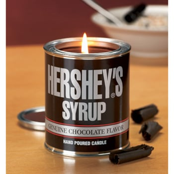 Hershey's Syrup Candle