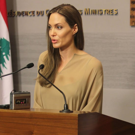 Angelina Jolie Visits Refugees in Lebanon