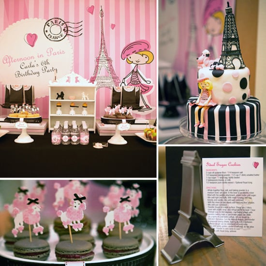 Paris Birthday Party Ideas Popsugar Moms