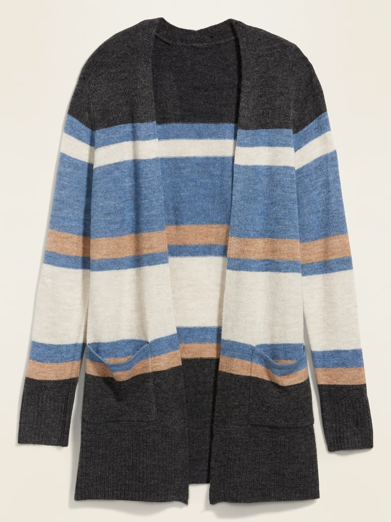 Old Navy Cozy Long-Line Open-Front Sweater