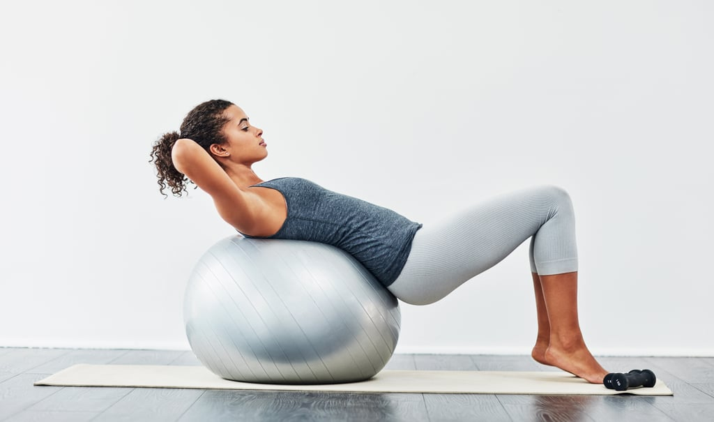Grab a Stability Ball, and Press Play on These Follow-Along Workout Videos
