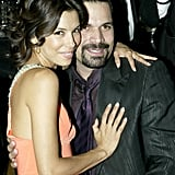 Eva Longoria cozied up to her Desperate Housewives costar Ricardo Chavira in 2005.