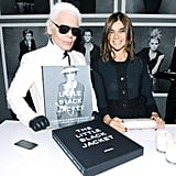 Karl on Carine Roitfeld's Children