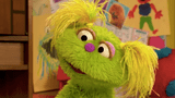 Character in Foster Care on Sesame Street