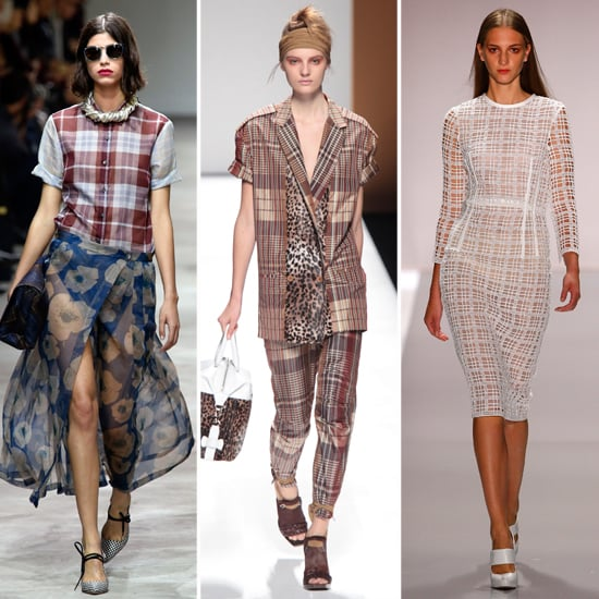 How to Wear Spring's Plaid With Prints Trend in Autumn