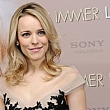Rachel McAdams had softly curled hair for The Vow in Germany.