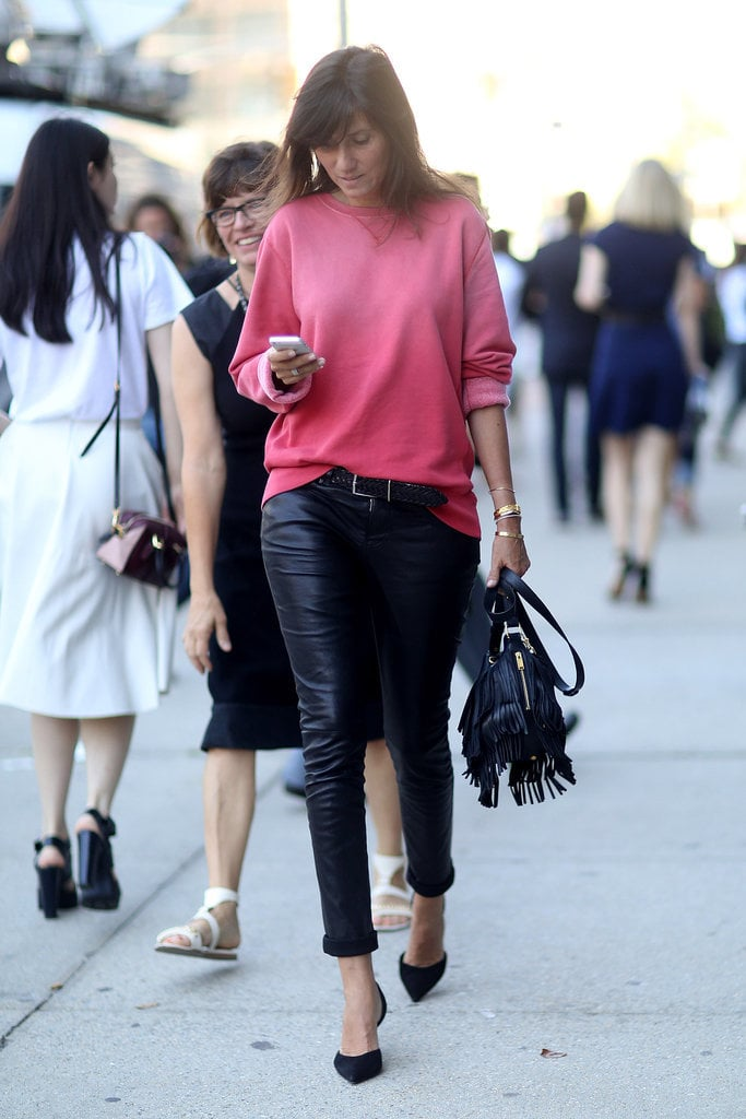 Sigh . . . Emmanuelle Alt makes chic look so damn easy.