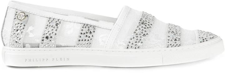 Philipp Plein Rose Sneakers