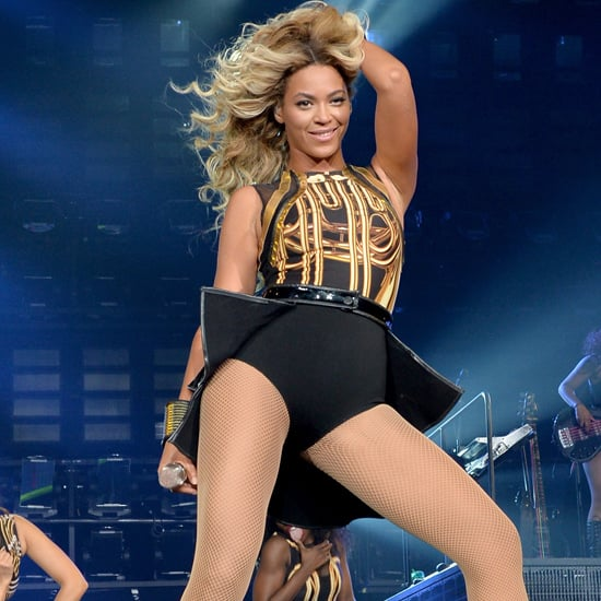 Celebrities at Beyonce's Concert in LA   Pictures
