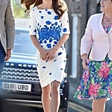 Kate Middleton Rewore a Polished Shift From 2014 During a Visit to Luton
