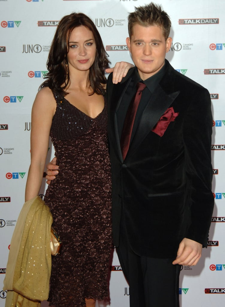 Emily Blunt and Michael Bublé in 2006