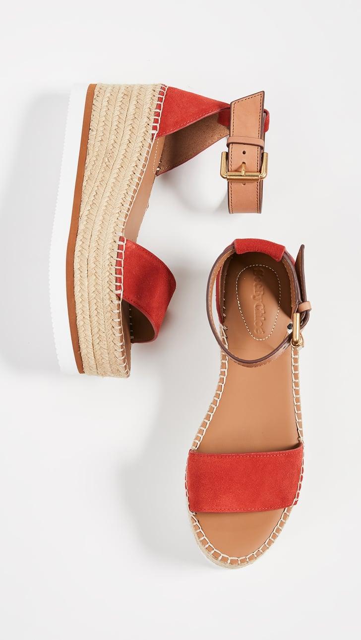 Best Wedge Sandals 2019   POPSUGAR Fashion