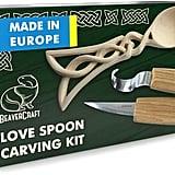 BeaverCraft Love Spoon Carving Kit
