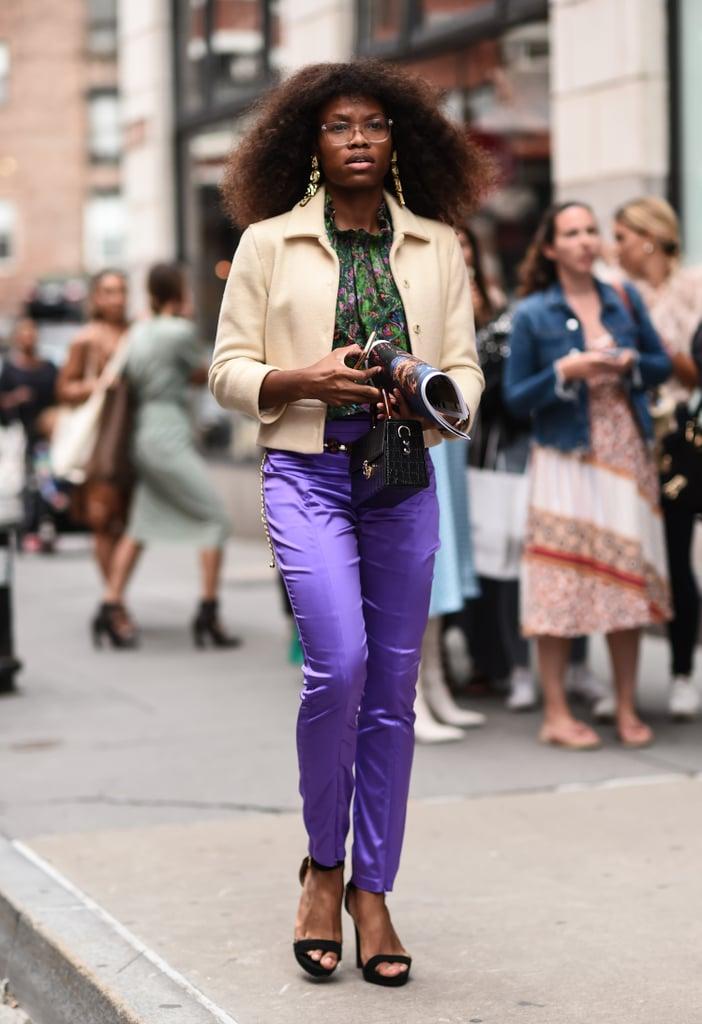Fall Pants Trend 2019: Satin Pants