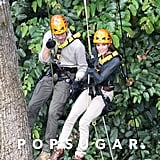 Prince William and Kate scaled a 130-foot tree near Malaysia's Danum Valley research center in 2012.