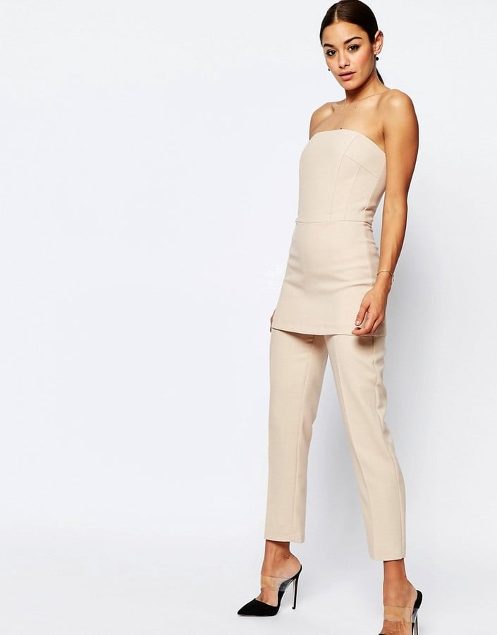 Asos Collection Bandeau Jumpsuit ($89)