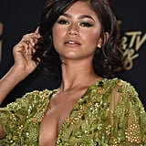 Zendaya's Green Eye Shadow at the MTV Movie & TV Awards in 2017