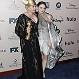 Patricia Arquette Hits Joey King in Head With Golden Globe