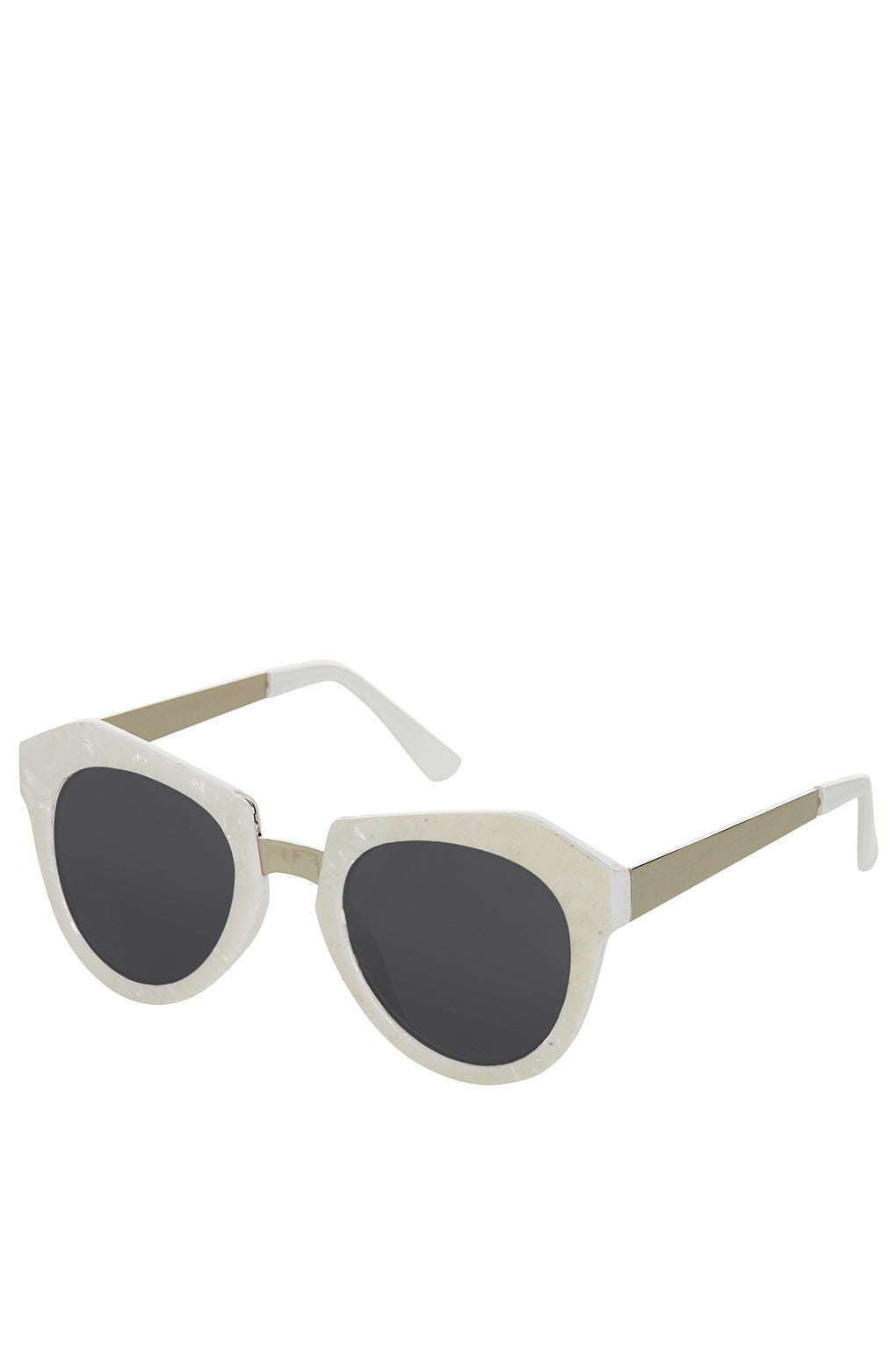 Bright white takes Topshop's frames ($32) up a notch.