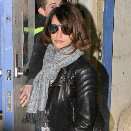 Penelope Cruz Pictures Leaving London Meeting