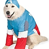 Marvel Universe Captain America Pet Costume