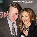 Matthew Broderick and Sarah Jessica Parker attended the NBC Entertainment & Cinema Society with Volvo premiere of Smash at the Metropolitan Museum of Art.