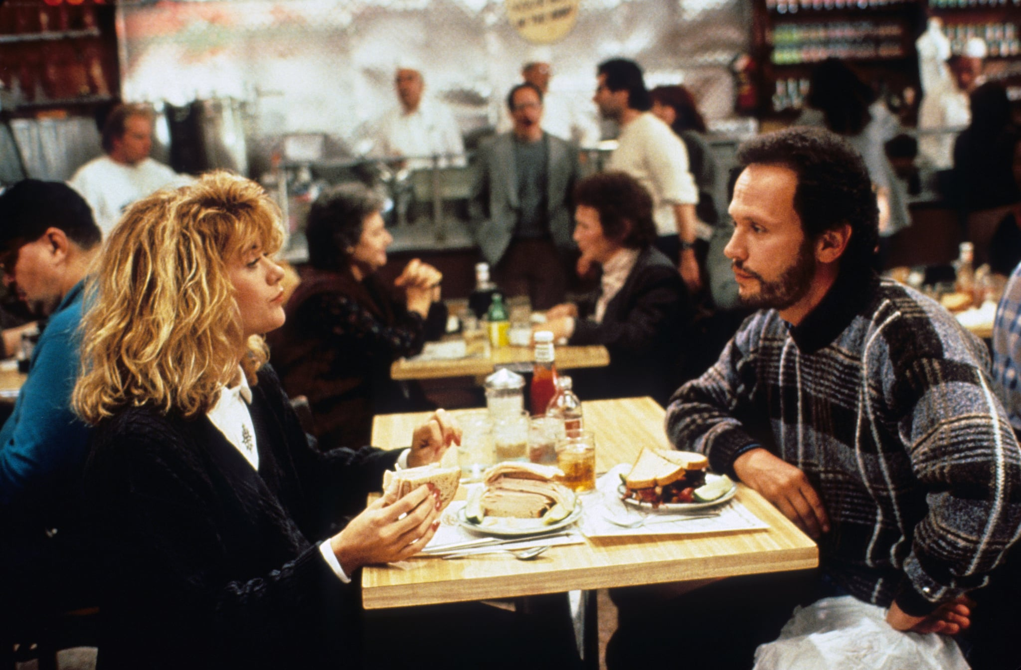 WHEN HARRY MET SALLY..., Meg Ryan, Billy Crystal, 1989, (c) Columbia/courtesy Everett Collection