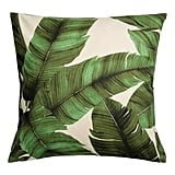 Palm Leaf Cushion